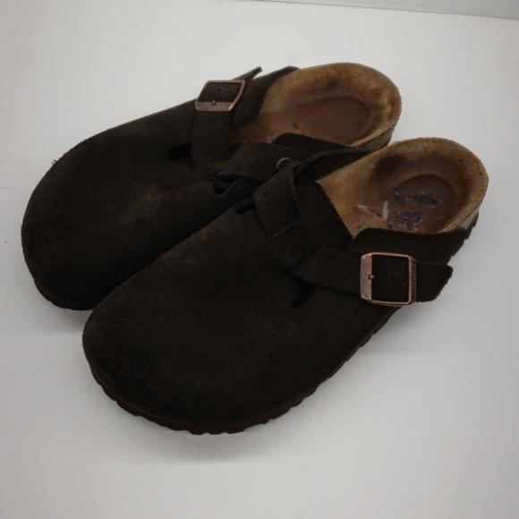 e61f0714b34 Birkenstock Shoes - Birkenstock Made in Germany Soft Footbed 38 245